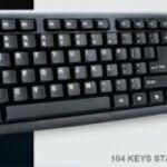 B-Apedra K-816 USB fekete HUN USB billentyűzet
