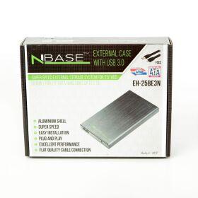 """nBase 2,5"""" külső ház USB EH-25BE3N SATA USB3"""